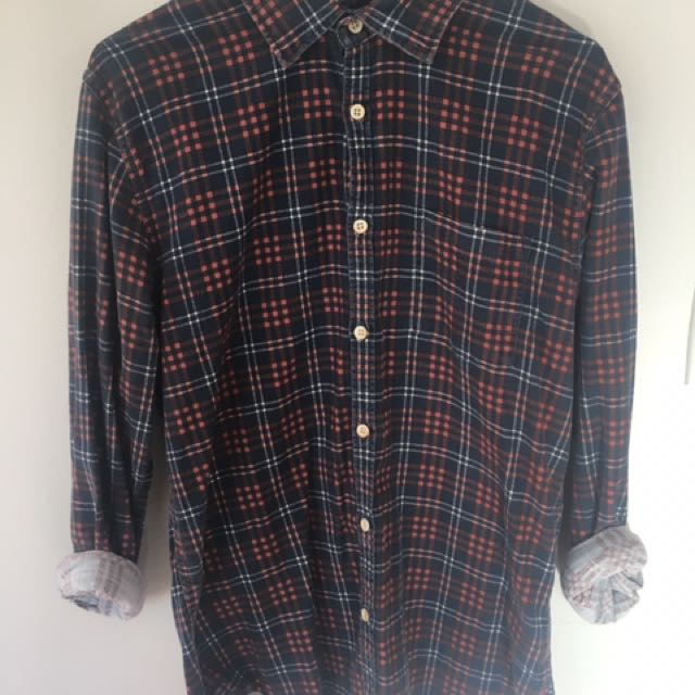 Quicksilver long sleeve button up