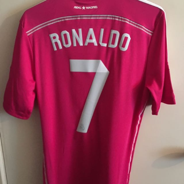 the latest a9dd2 7104d Real Madrid Official Away Kit Season 14/15 Jersey Ronaldo