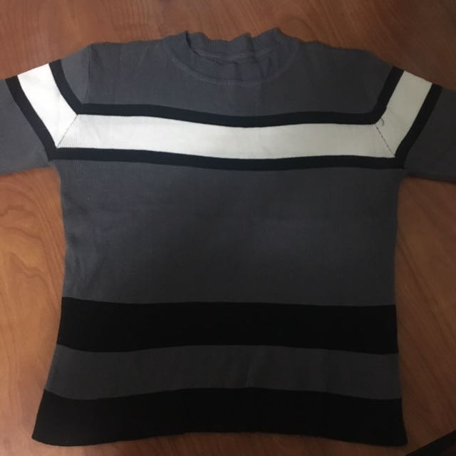 Ribbed Turtle Neck Shirt