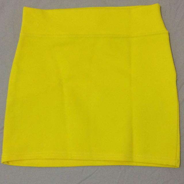 Rok Mini Kuning Stabilo