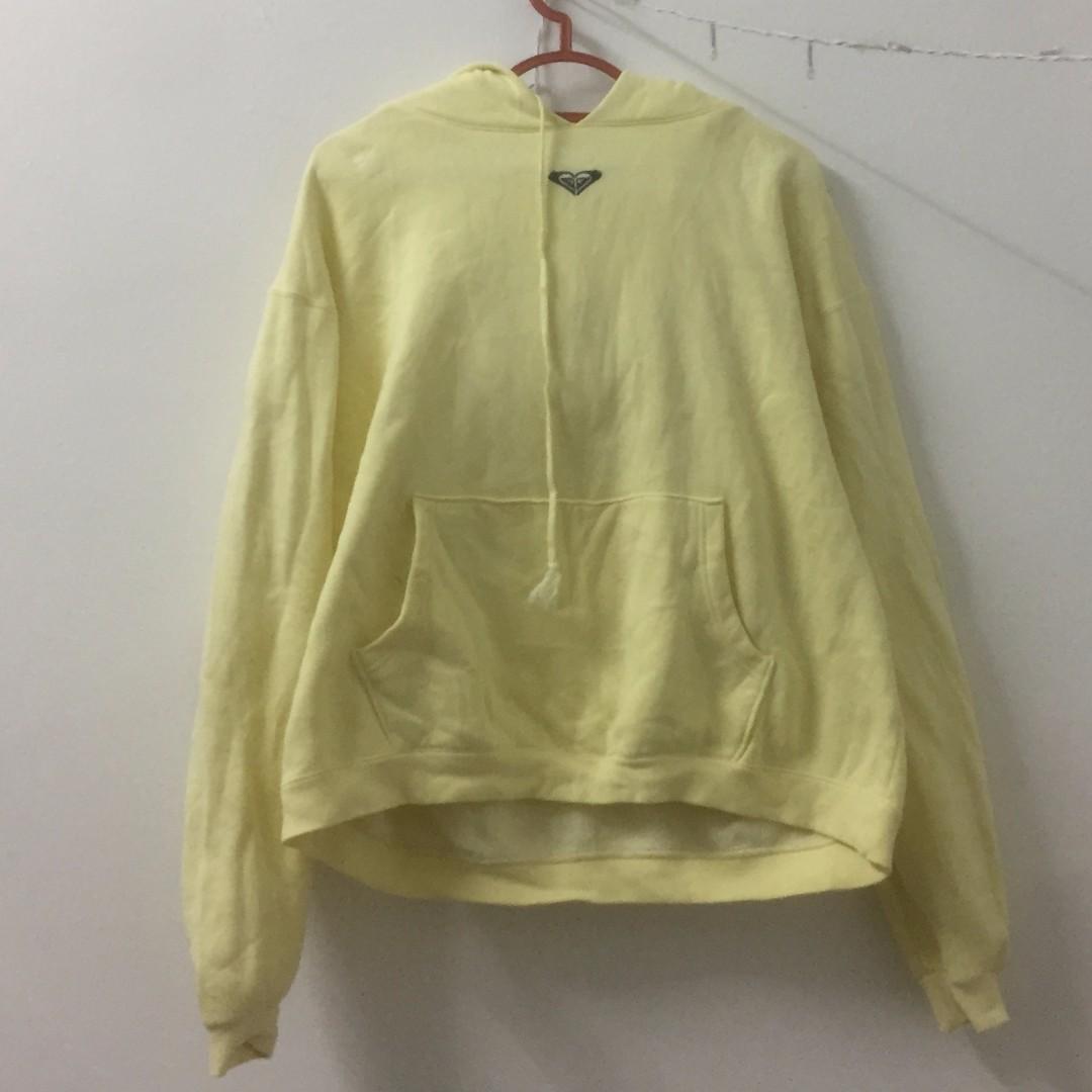 #Take5off Roxy Bright Yellow Hoodie