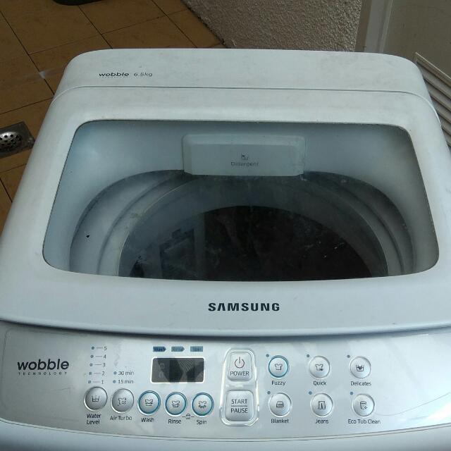 Samsung Wobble Washing Machine