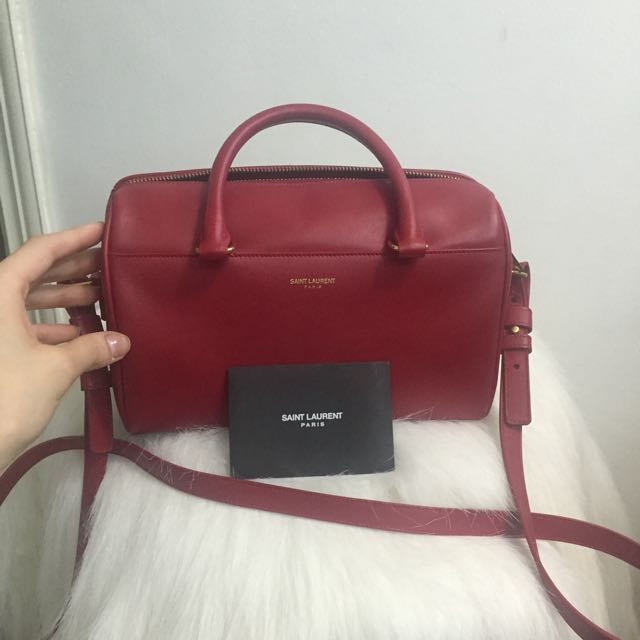 SELLING LOW AUTHENTIC Classic YSL mini duffle bag