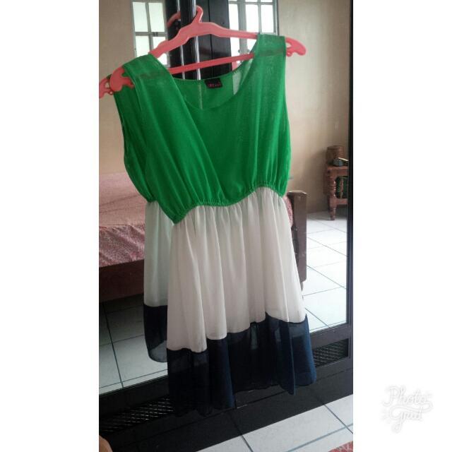 Semi See Through Summer Dress