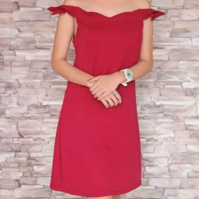 Side Ribbon Dress