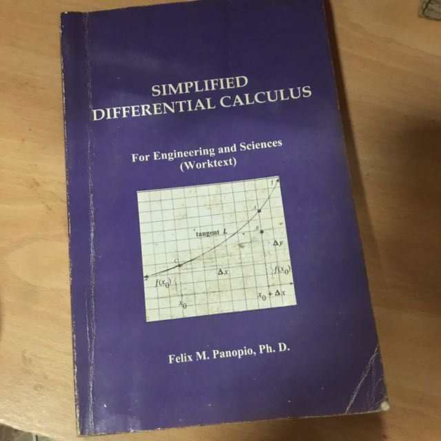 Simplified Differential Calculus
