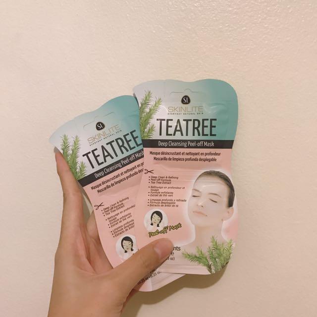 Skinlite Tea Tree Deep Cleansing Peel-off Mask