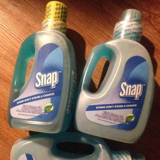美國Snap強力酵素高效洗衣精