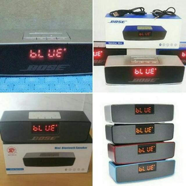 Speaker BOSE LCD/Btooth/FM stereo
