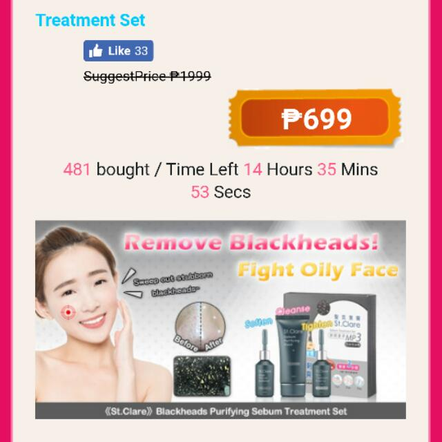 St. Clare Nose Treatment (Used)
