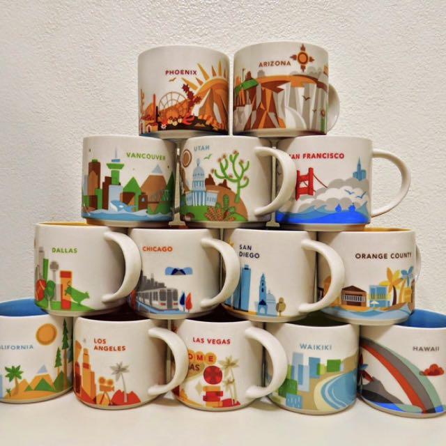 Starbucks Collection Mugs