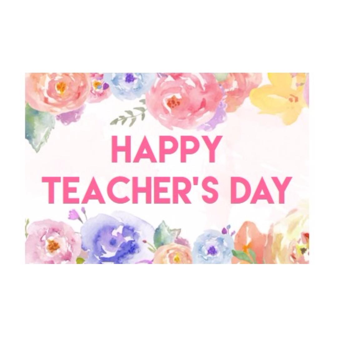 sticker label  happy teacher's day design  craft