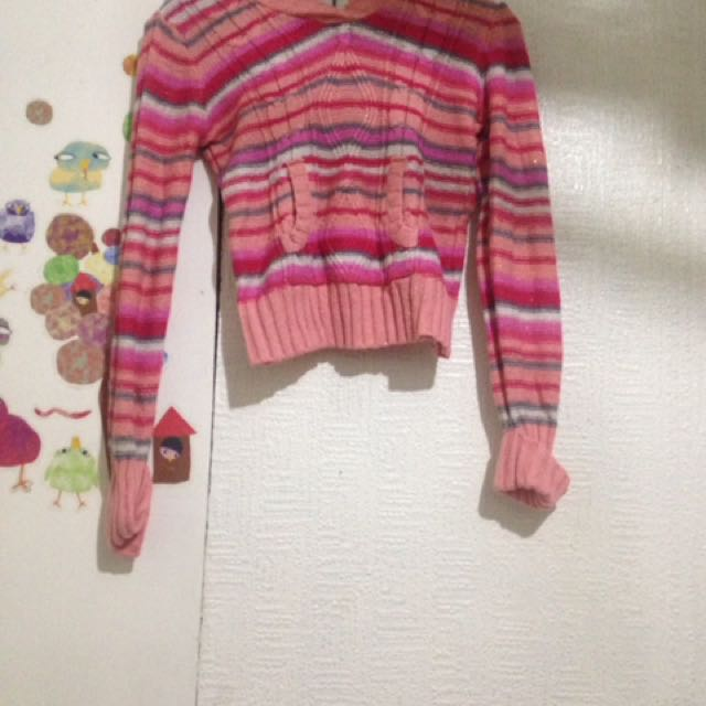 Stripped Jacket For Kids