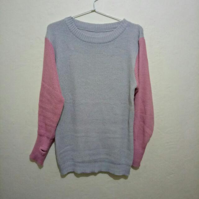 SWEATER ROUNDHAND COMBINATION