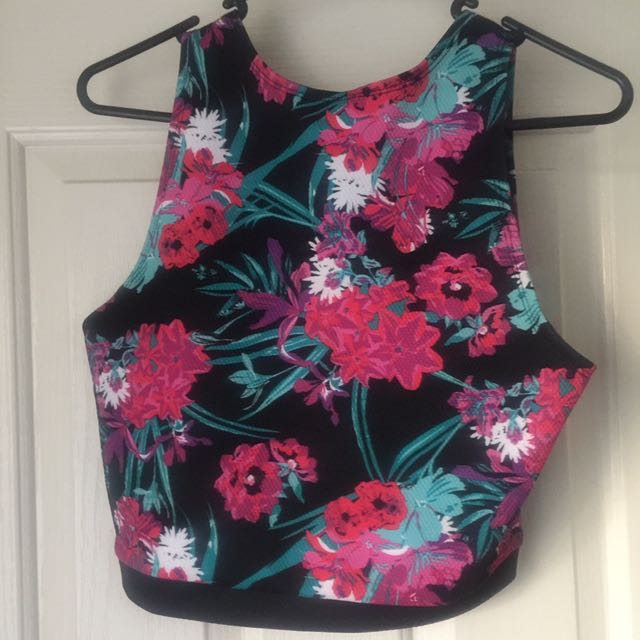 SZ12 Colourful Crop Top