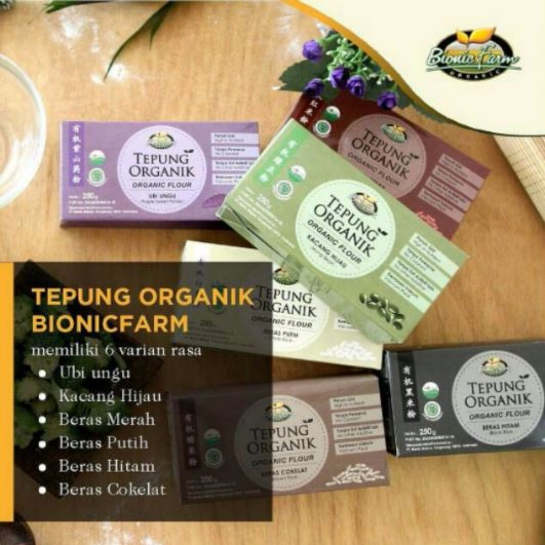 TEPUNG MPASI ORGANIK BIONIC FARM