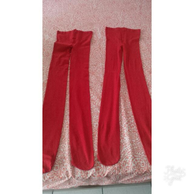 Terranova Red Pantyhose