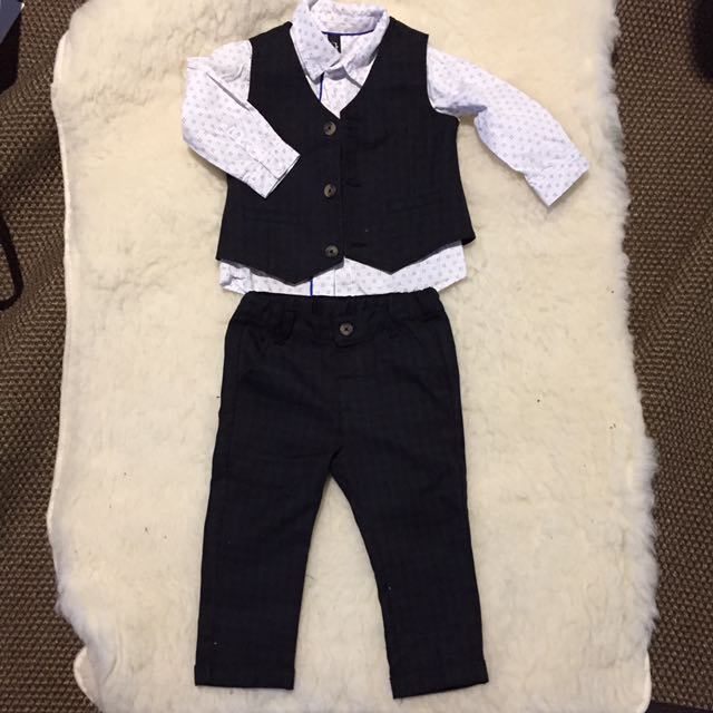 Toddler Suit And Shirt