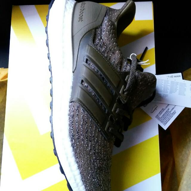 Ultra Boost Green Cargo Leather Size 9