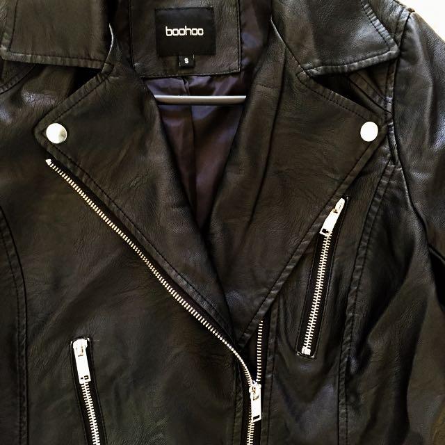 Unworn Faux Leather Jacket
