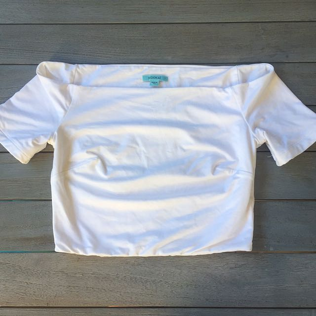 White Kookai Crop