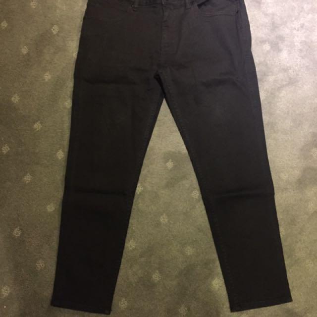 "Wrangler Jeans Black 34"""