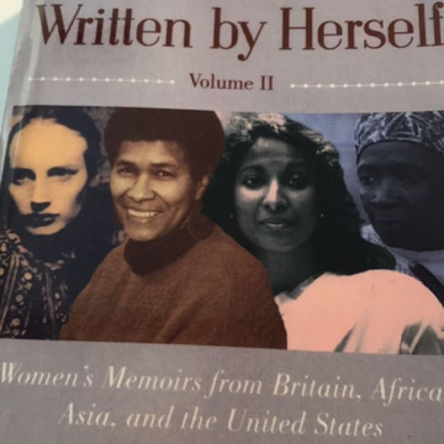 Written By Herself Conway History Book