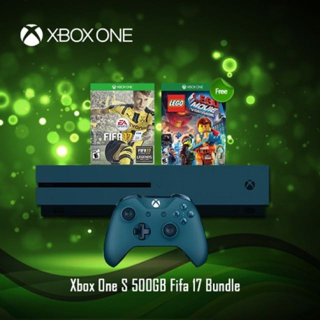 Xbox One S FIFA 17 Bundle (1TB) ★★★★★ OfferPrice:$349.00