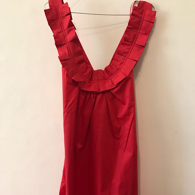 Zara Hot Red Dress