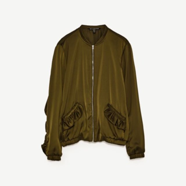 Zara Jacket With Frills