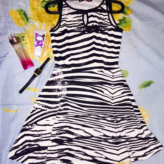 Zebra inspired Sunday Dress