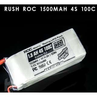 Snowman / Rush 1500mah 100C Racing Lipo
