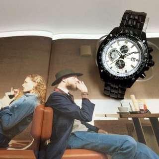 FASHION WATCH 軍事風搭配錶
