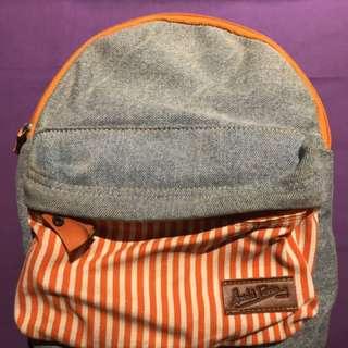 Tas Mini Backpack Denim