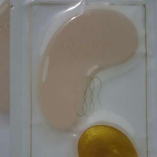 3 Pairs Of Miniso Gold Collagen Eye Mask