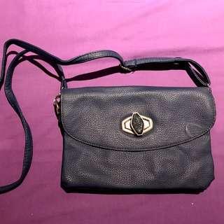 Navy Clutch Bag