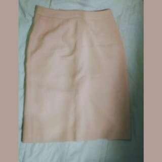 Light Pink Office Skirt