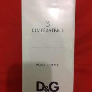 D&G l'imperatrice 3 - Pour Femme