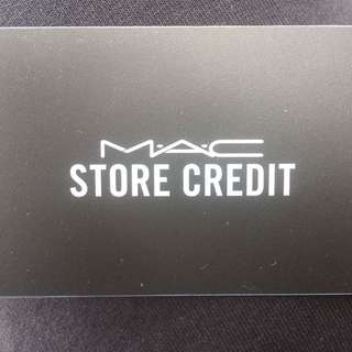 $92.66 Mac Cosmetic Store credit