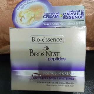 Bio Essence Bird Nest + Peptides Essence In Cream