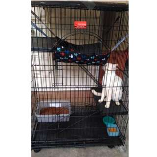 3-layer cage for pets