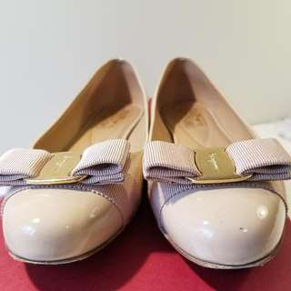 FERRAGAMO Flats 100% Authentic