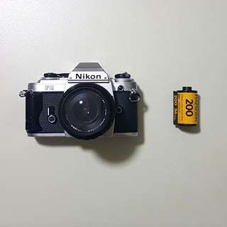 Nikon FG + 28mm F2.8 Film camera
