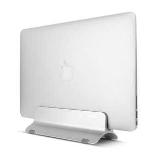 PC / MacBook Pro Air Stand 電腦直立式收納支架 鋁金屬