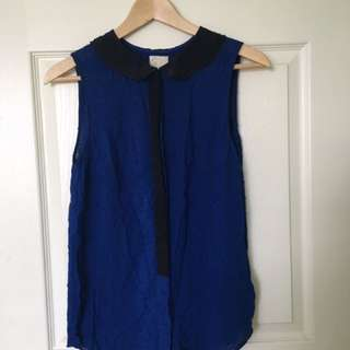 Electric Blue Sleeveless S