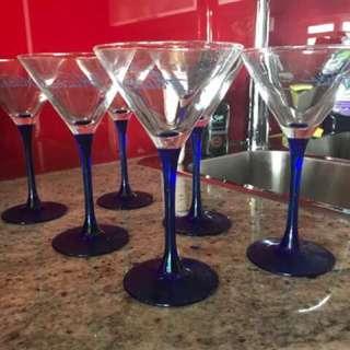 Martini Glasses Set Of 6