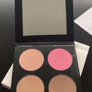 ISH Contour Kit - Light/medium - Makeup - Blush- Bronzer - Highlighter