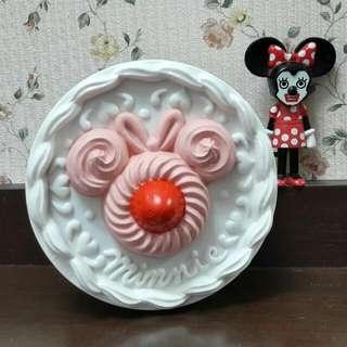 【迪士尼樂園】米妮蛋糕造型鐵盒