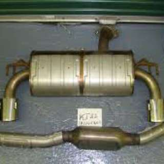 Evolution X 10 stock Exhaust System