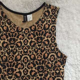 Cheetah Midi Dress